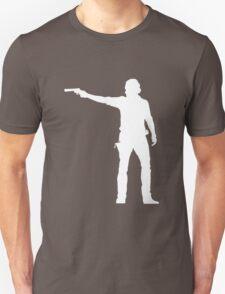 TWD Rick Grimes Silhouette Unisex T-Shirt