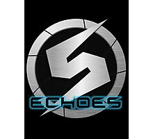 Metroid Prime 2: Echoes/Screw Attack Logos Photographic Print