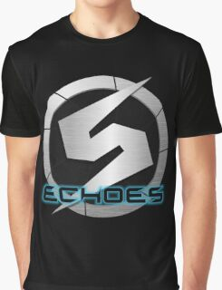 Metroid Prime 2: Echoes/Screw Attack Logos Graphic T-Shirt