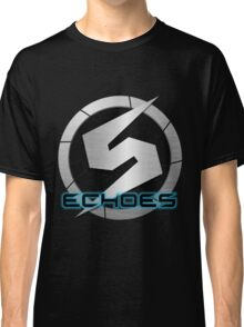 Metroid Prime 2: Echoes/Screw Attack Logos Classic T-Shirt