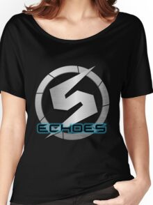 Metroid Prime 2: Echoes/Screw Attack Logos Women's Relaxed Fit T-Shirt