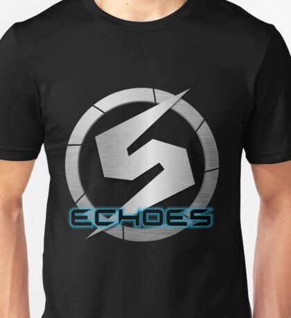 Metroid Prime 2: Echoes/Screw Attack Logos Unisex T-Shirt