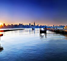 Good morning New York by Zoltán Duray
