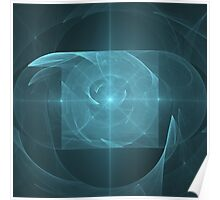 Whirlpool Torus of Infinite Love | Future Art Fashion Poster