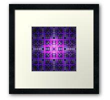 Tiles of Rubix | Future Art Fashion | Remix Framed Print