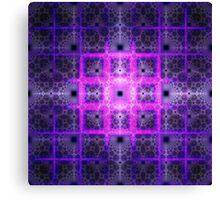 Tiles of Rubix   Future Art Fashion   Remix Canvas Print