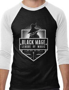 League of Magic: Black Men's Baseball ¾ T-Shirt