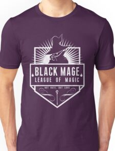 League of Magic: Black Unisex T-Shirt