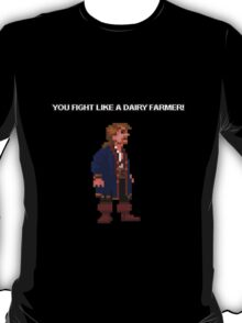 Monkey Island II Shirt - Fight like a Dairy Farmer T-Shirt