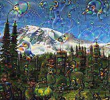 Mt. Rainier Machine Dreams #1 by Nicole Petegorsky