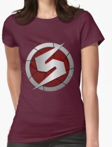 Metroid/Screw Attack Logos Womens Fitted T-Shirt