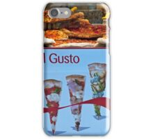 Vivi Il Gusto! iPhone Case/Skin
