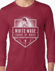League of Magic: White Long Sleeve T-Shirt