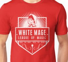 League of Magic: White Unisex T-Shirt