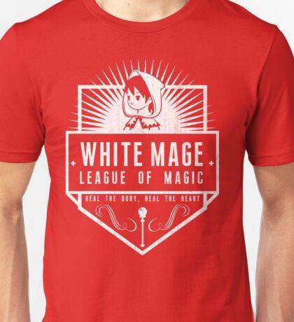League of Magic: White Unisex T-Shirt