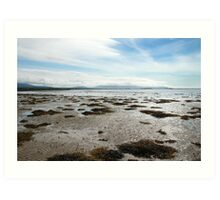 Empty Welsh Beach Art Print