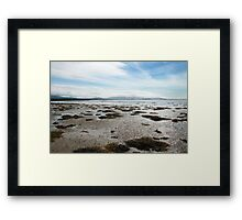 Empty Welsh Beach Framed Print