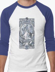 Theatre of Science (Blue) Men's Baseball ¾ T-Shirt