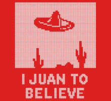 I Juan to Believe - Ugly Christmas Kids Tee
