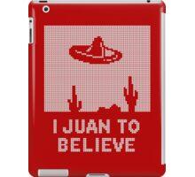 I Juan to Believe - Ugly Christmas iPad Case/Skin