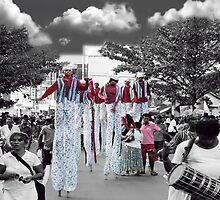 ❀◕‿◕❀ SRI LANKA FESTIVAL MEN WALKING ON STILTS ❀◕‿◕❀ by ✿✿ Bonita ✿✿ ђєℓℓσ