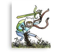 Grass Sword Canvas Print