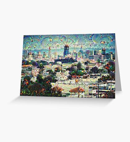 San Francisco Machine Dreams Greeting Card