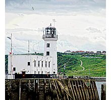 Lighthouse, Scarborough Photographic Print