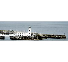 Lighthouse, Scarborough - Panorama Photographic Print
