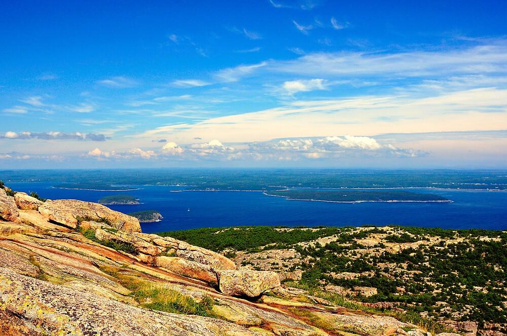 Cadillac Mountain, Acadia National Park, Maine by fauselr