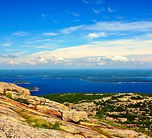 Cadillac Mountain, Acadia National Park, Maine by fauselr