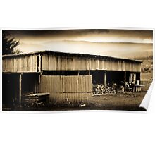 Huon Valley Wood Shed - Tasmania Poster