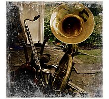 Musical Instruments Photographic Print