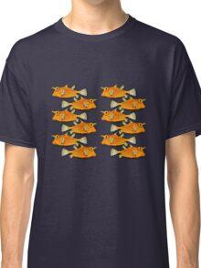 many fish [zip split) Classic T-Shirt