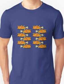 many fish [zip split) T-Shirt
