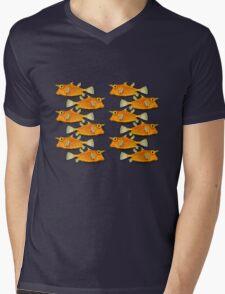 many fish [zip split) Mens V-Neck T-Shirt