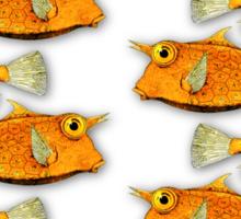 many fish [zip split) Sticker
