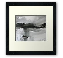 Black and White series untitled Framed Print
