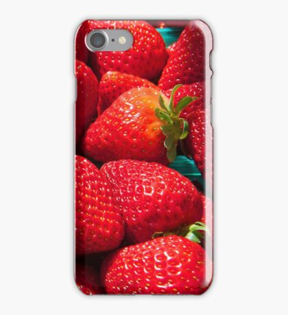 Strawberries iphone forever... iPhone Case/Skin