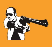 Hunter S Thompson - Gun by Tim Topping