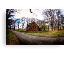 Chapel in the Country Canvas Print