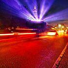Light Show of Niagara Falls by Zoltán Duray