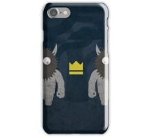 Where the Wild Things Are w/o Title iPhone Case/Skin