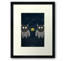 Where the Wild Things Are w/o Title Framed Print