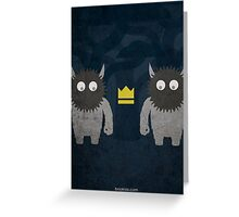 Where the Wild Things Are w/o Title Greeting Card