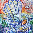 Blue Rocking Chair by tutuzi22