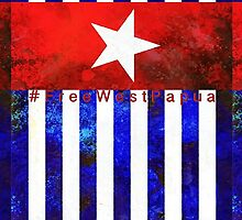 Raise the Flag - Free West Papua  by Shevaun  Shh!