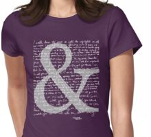 Ampersand | Amanda Palmer Womens Fitted T-Shirt