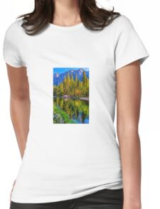 Reflections on the Merced river, Yosemite National Park Womens Fitted T-Shirt