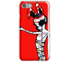 neferbuni Lu Red iPhone Case/Skin